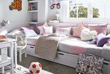 Decoración infantil / Cómo decorar y equipar el dormitorio de los más pequeños de la casa. / by Micasa Decoración