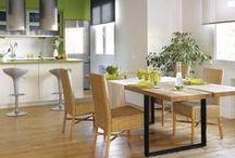 Cocinas / Cocinas actuales con planos de distribución e ideas para decorar. / by Micasa Decoración