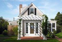 Curb Appeal/Exterior House Love / Beautiful homes with charm and character