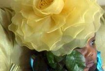 Flowers:  My Flowers / Handmade Flowers I've Made--mostly millinery flowers (Millinery; Couture Millinery; Hat Making, Flower Making; Couture Flowers)