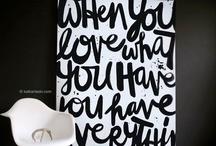 Black and White! / by Veronica Delgado