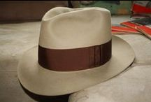 Hats:  The Fedora,  My Favorite Hat! / Fedoras, both men and women hats, including some other shapes.