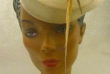 Hats:  Hats I Like 2 / Millinery; Couture Millinery; Hat Making (fashion, design):   Hats I Like, Mostly Vintage--Sorry, I'm no longer pinning to my other Hats I Like location, but there are still beautiful hats there for you to view.