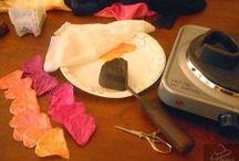 Flowers:  Flower Making / Handmade Flower Tutorials (Fabric, Leather, etc.)