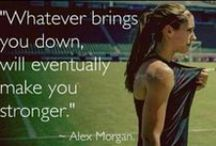 Words to live (and play) by! / Inspirational soccer quotes
