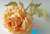 Flowers:  Handmade Flowers