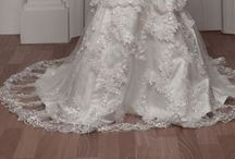 Dream Wedding Dresses / Mermaid Ball gown  Trumpet  A-line  Long Sleeves Sleeveless Cap sleeves  Off the shoulder One shoulder  Tulle Taffeta  Chiffon / by Kari Patrick