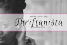 Thriftanista in the City / style and diy