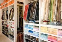 Closets / Designing and organizing gorgeous closets