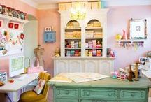 Her Creative Space / Inspiration for my craft room / by gMarie