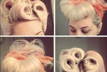 Loving: Buns, Chignons, Up & Lo Dos / http://www.steelemystyle.com/2011/12/07/buns-chignons-up-lo-dos-hairspiration/