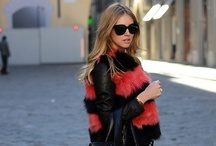 How to wear: Fur  / rug up stylishly with fur
