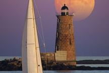 Lighthouses / Pictures, Photos, and Paintings of Lighthouses from around the world.  / by Linda & Jim Husband/WifeTeam