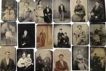 Miniatures - portraits / antique photos and paintings of portraits