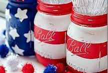Holidays | Fourth of July / Let's celebrate 4th of July in style with these awesome crafts, recipes, and entertaining ideas!