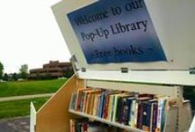 Pop-up Libraries / Look around. You can find a library almost anywhere.