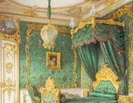 Miniatures - atmospheres / How did antique rooms look like. How where they furnished and decorated? How did people live in the 18th and 19th century?