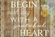 A Heart of Gratitude / #thanksgiving