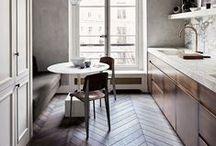 Kitchen and living room inspiration / bathroom, kitchen and home inspiration