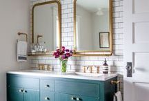 Bathroom Remodel / inspiration for the perfect style to fit our 1939 cottage