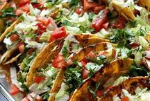 Mexican Recipes / Healthy Mexican Dishes