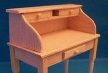 Miniatures - furniture / How to build furniture for the dollhouse, mainly in 1:12 scale
