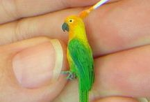 Miniatures - animals / Making animals for the dollhouse