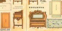 Graphics - paper dollhouses / printies of dollhouses and furniture