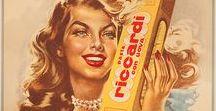 Graphics - Italian ads, labels / Italian vintage food labels