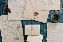 paper & calligraphy / old paper | handmade paper | texturised paper | calligraphy | lettering | handwriting