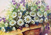 Çiçekli foto  les fleurs photo