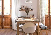 home : kitchen & dining / kitchen ideas | modern vintage kitchen | kitchen interior design | vintage kitchen | modern kitchen | dining room ideas | modern vintage dining room | dining room interior design | vintage dining room | modern dining room