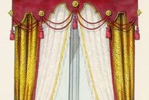 Miniatures - curtains and drapes