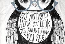 Owls / by Courtney Yancey