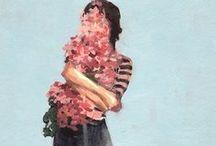 BRUSH + IGNITE / Paintings/drawings to inspire my own / by Liviya Thoreson