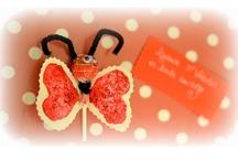 valentine's / St. Valentin / by Pommes Papillons