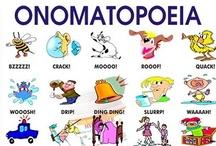 ELA - Figurative Language / metaphors, similes, onomatopoeia, hyperboles, personification, idioms / by Shanna D