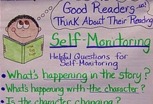ELA - Reader Strategies / monitor comprehension, connect, retell, summarize, question, visualize, infer, determining importance, synthesize / by Shanna D