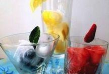 Flavored Water & Frozen Treats