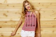 American Spirit / Let freedom ring!  Go Fourth in Fashion with all things red, white, and blue.  Discover the latest trends and all things Americana here.  #ForeverFlorida / by Bealls Florida