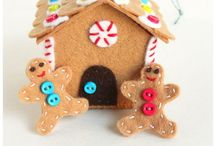 CHRISTMAS GINGERBREAD / by Mary Therese Griffin