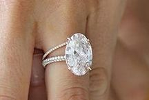 Celebrity Wedding Rings / We love these gorgeous rocks worn by our favorite celebrities.