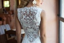 Gorgeous Gowns / Some of our favorite wedding attire from casual beach dresses to over the top gowns