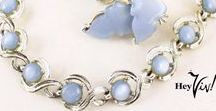 Vintage Jewelry on Etsy by Hey Viv ! / Fanciful and Vibrant Vintage Jewelry with Personality at Hey Viv ! Vintage on Etsy. Jewelry sets, costume jewelry, bead necklaces, pearls, rhinestones, pins .... collect and wear them.