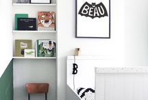 boy spaces / boy decorating