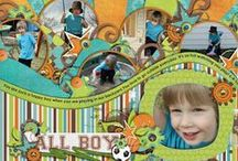 Scrapbook Layouts / Layout ideas and inspiration for scrapbooks