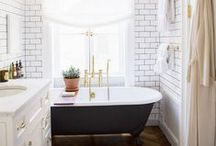 Interiors: Bathrooms / by Sheila Zeller Interiors