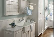Interiors: Laundry Rooms / by Sheila Zeller Interiors