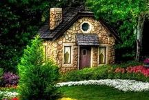 Cozy Cottages / Love grows best in little houses ~  Doug Stone