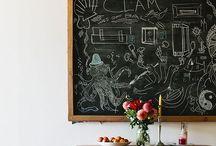 blackboard singing in the dead of night / Blackboards because I like em / by Maxabella Loves